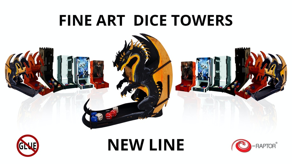 Fine Art Dice Towers project video thumbnail