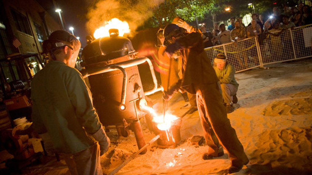 Fund The 2016 Art All Night - Trenton Iron Pour project video thumbnail