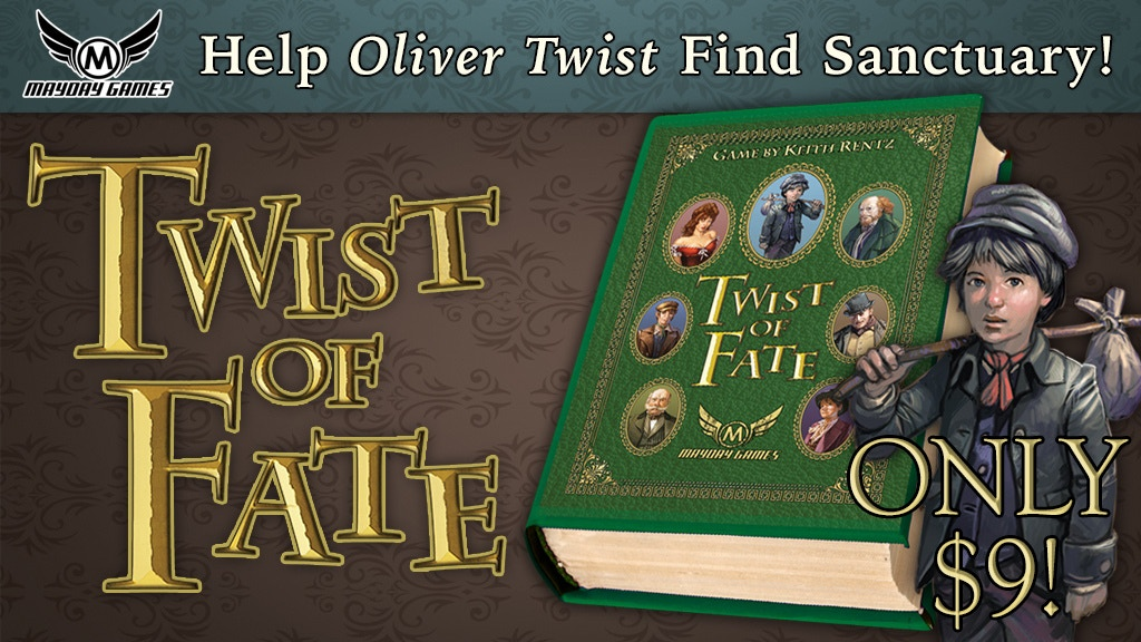 Twist Of Fate - The Oliver Twist microgame for 2-4 players! project video thumbnail