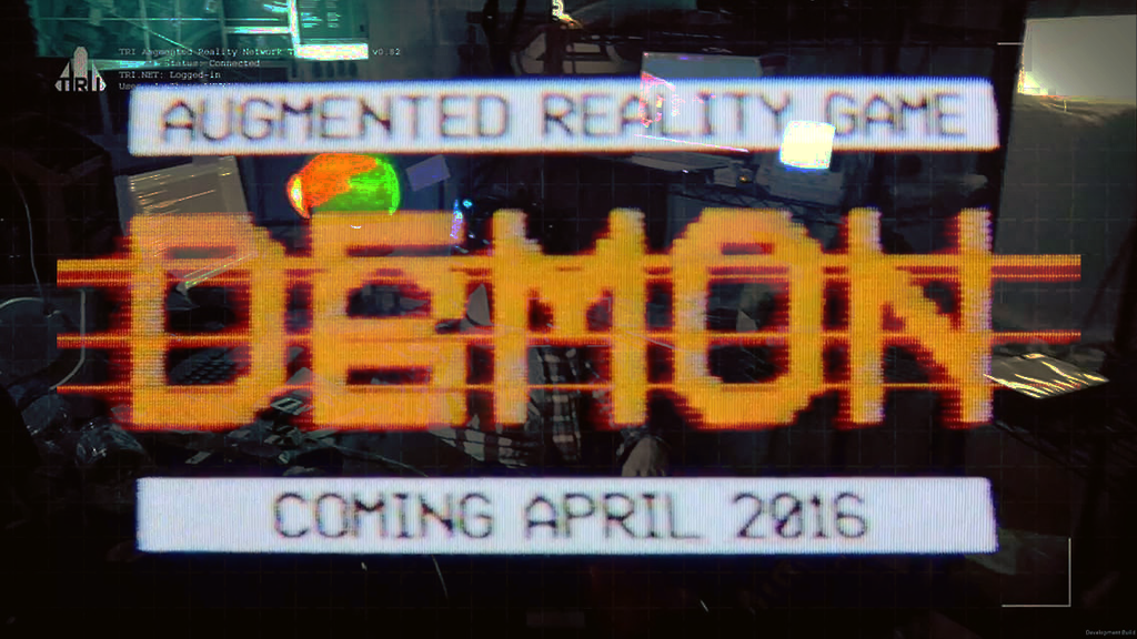DAEMON - Augmented Reality Game project video thumbnail
