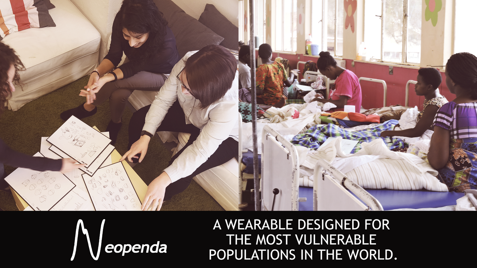 Neopenda is a wearable designed for one of the most vulnerable populations on the planet: newborns in developing countries.
