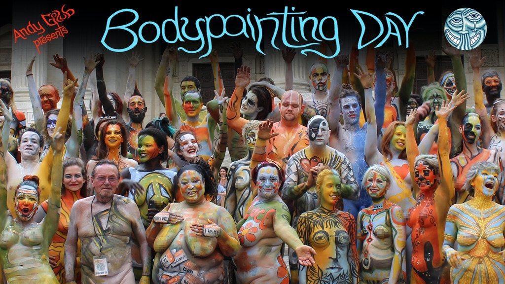 Bodypainting Day 2016: NYC & Amsterdam project video thumbnail
