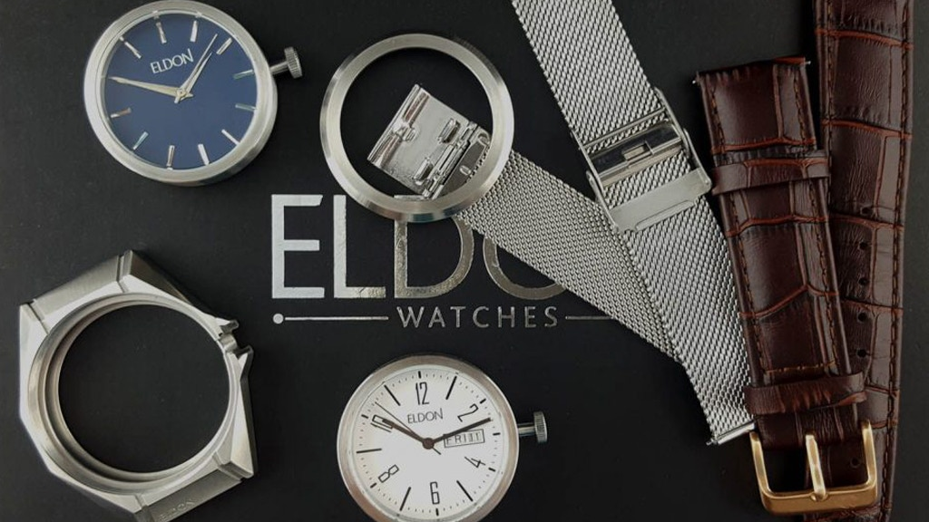 Eldon Watches - The Fully Interchangeable Watch! project video thumbnail