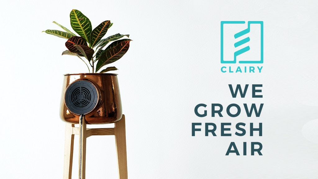 Clairy: The Most Amazing Natural Air Purifier project video thumbnail