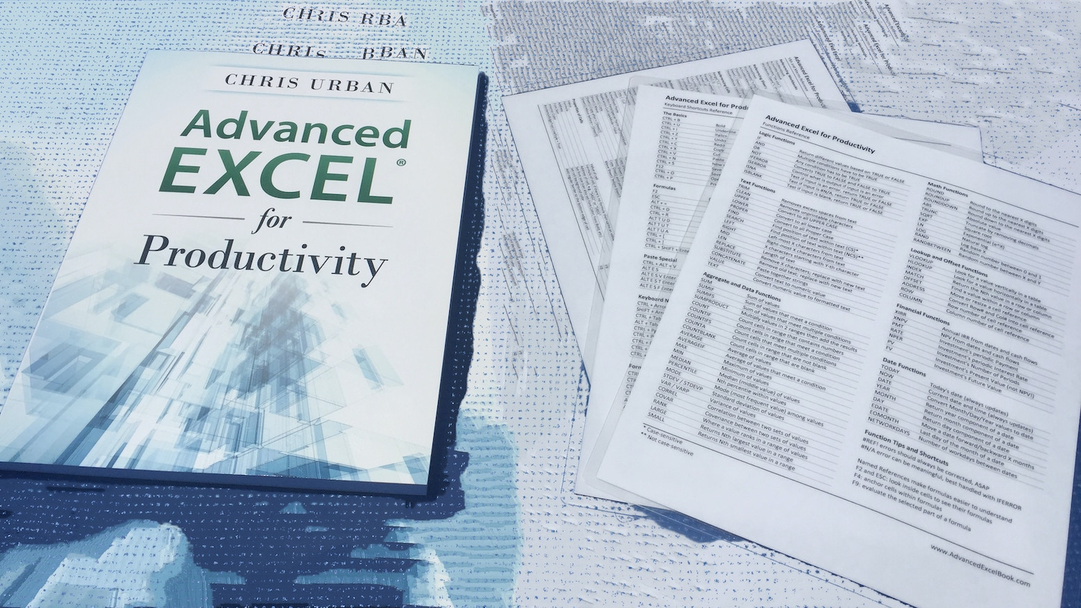 Advanced Excel Book by Chris Urban » Available on Amazon com