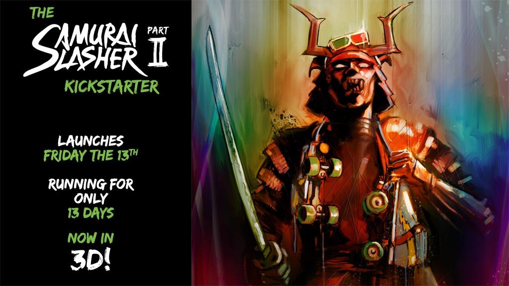 Samurai Slasher - part 2. Bigger, badder, and even 3D'er! project video thumbnail