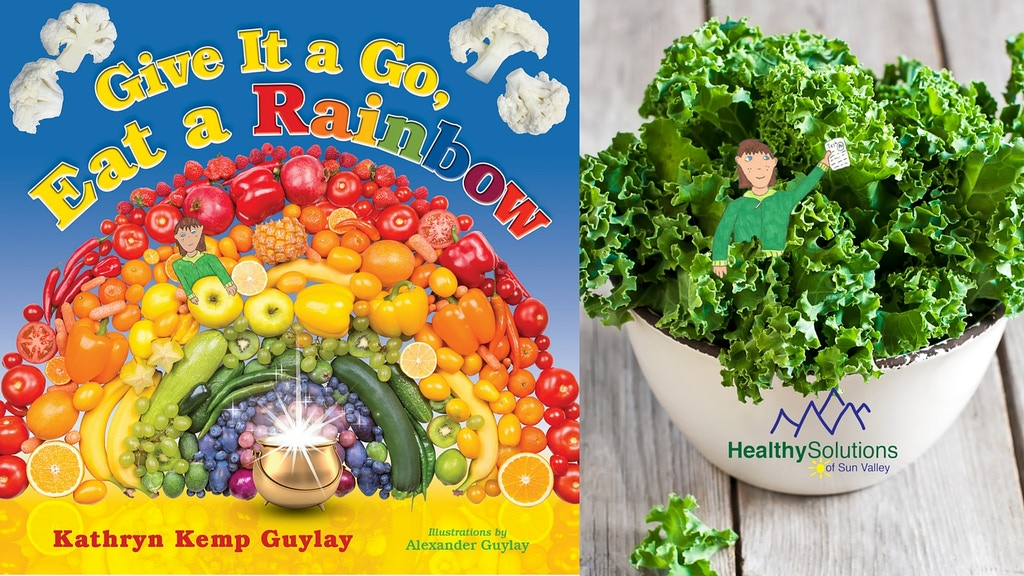 Give It a Go, Eat a Rainbow (Kids Picture Book) project video thumbnail