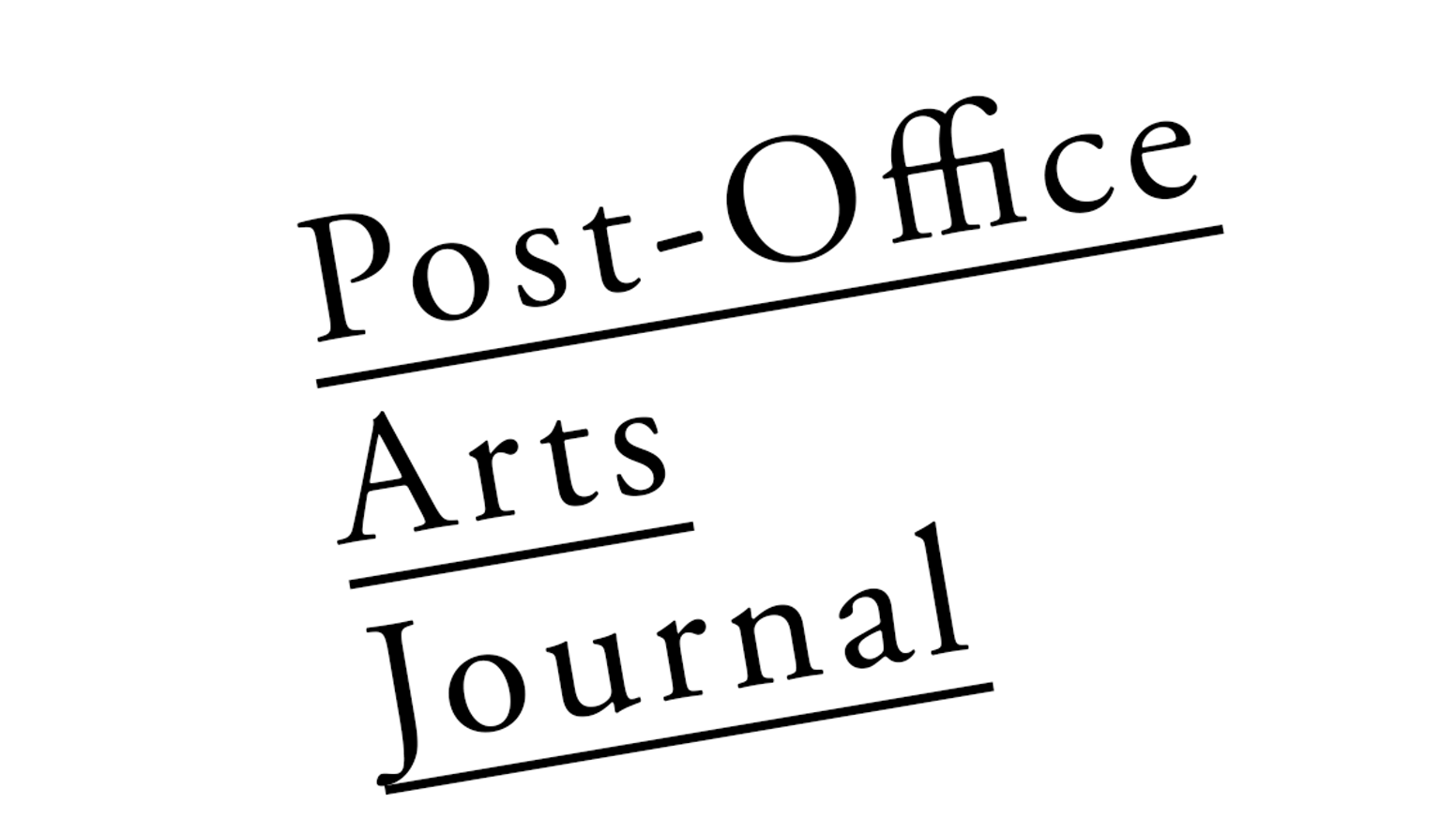 Post-Office Arts Journal is a platform for essays & critically engaged response to exhibitions in Baltimore's alternative arts spaces.