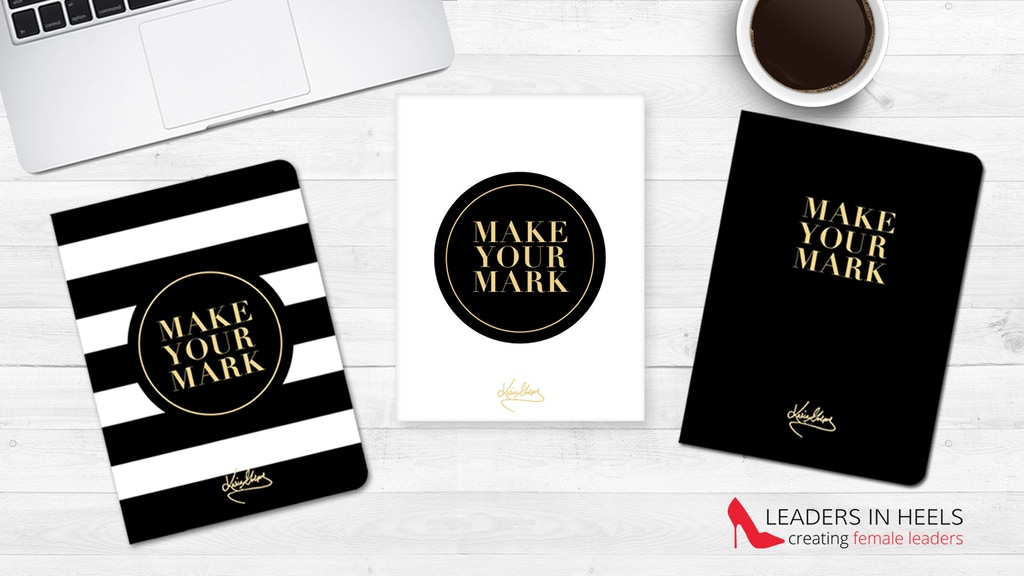 LEADERS IN HEELS notebooks & journals empowering women project video thumbnail