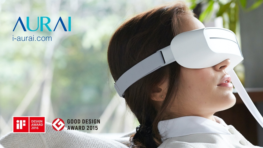 Aurai-The World's 1st Cool/Warm Water-propelled Eye Massager project video thumbnail