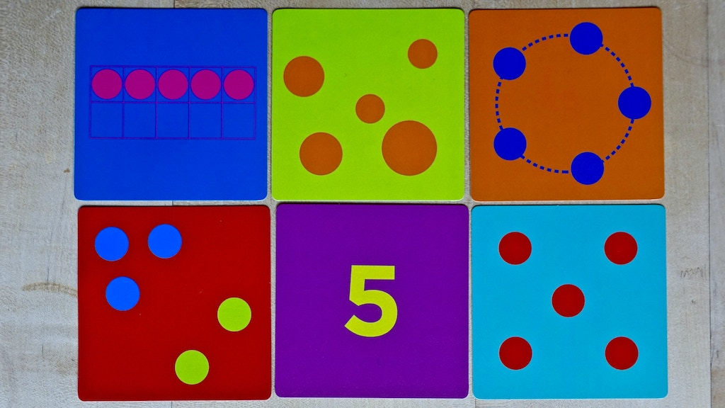 Tiny Polka Dot The Colorful Math Game For Young Kids