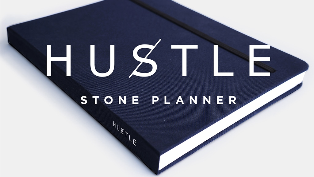 Hustle : The Worlds First Planner Made From Stone Paper project video thumbnail