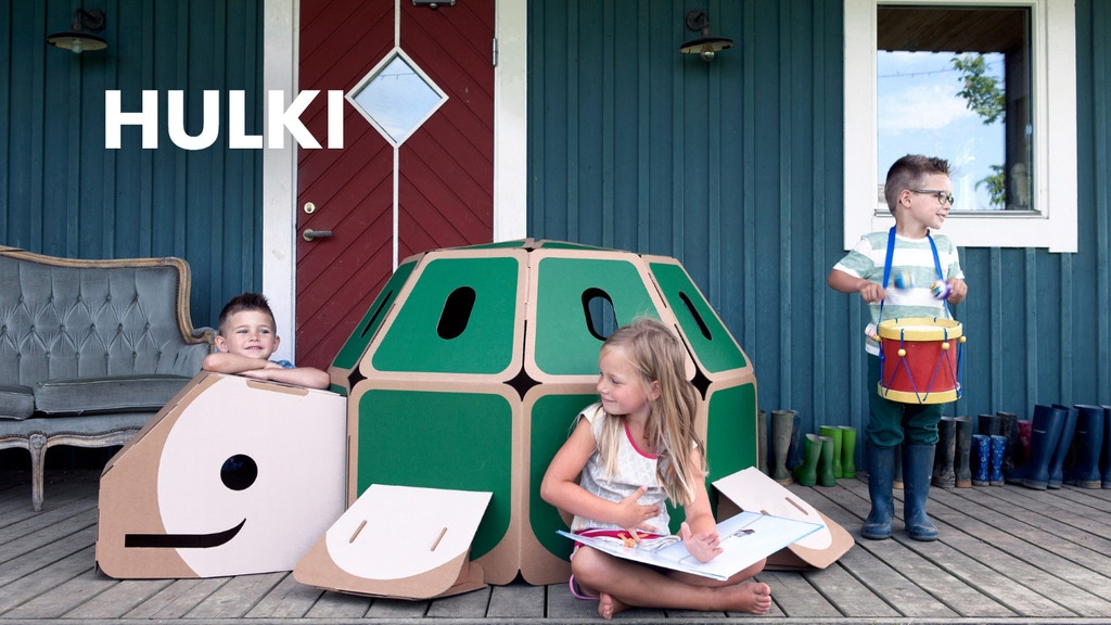 HULKI Eco-friendly designer toys that kids can play inside! project video thumbnail