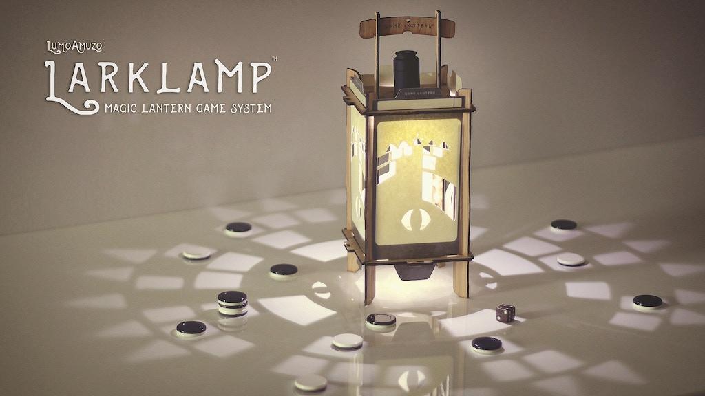 LARKLAMP | Magic Lantern Game System project video thumbnail