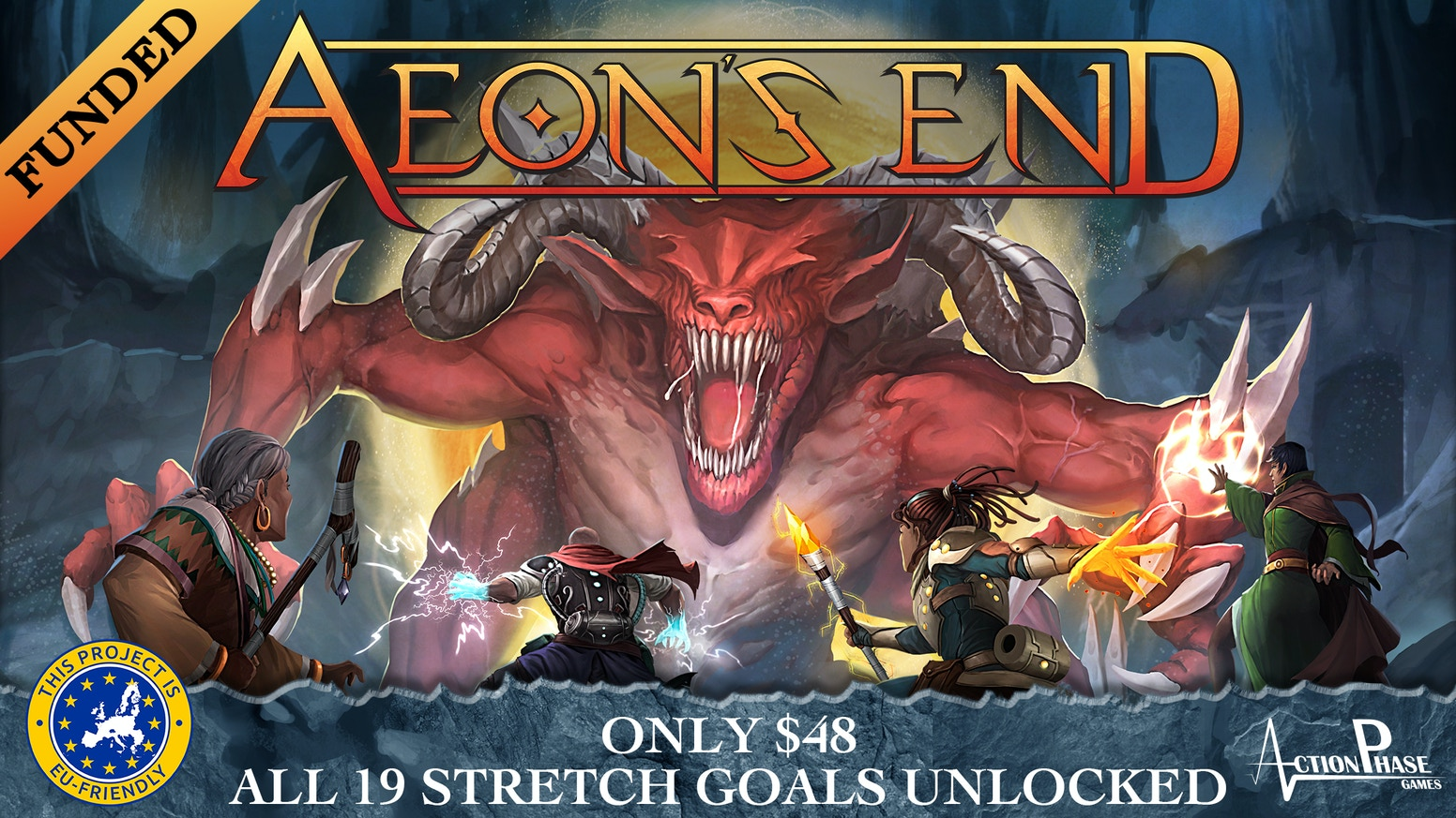 aeon s end by action phase games kickstarter