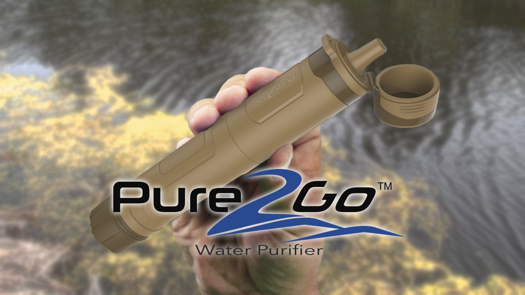 """Pure2Go Water Purifier """"Don't Just Filter, Purify"""" project video thumbnail"""