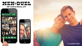 MEN DUEL - The First Gay Couples Only App