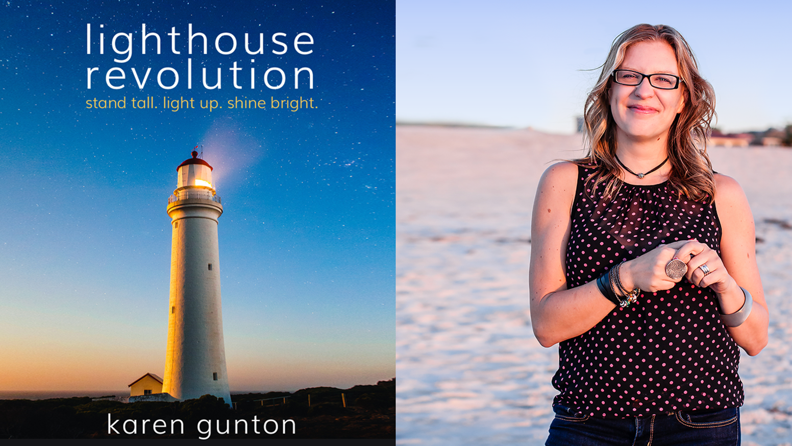 are you ready to live a life that lights you up? the lighthouse revolution book will both teach you + inspire you to shine your light.