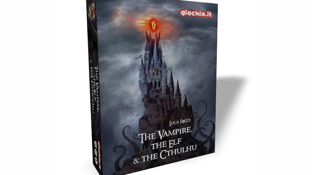 The Vampire, the Elf and the Cthulhu project video thumbnail