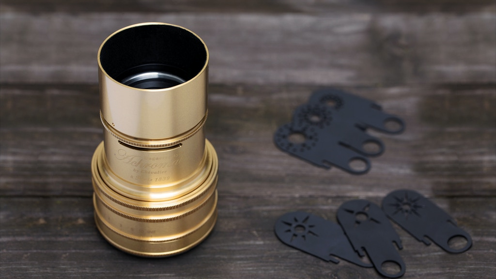 The Lomography Daguerreotype Achromat 2.9/64 Art Lens project video thumbnail