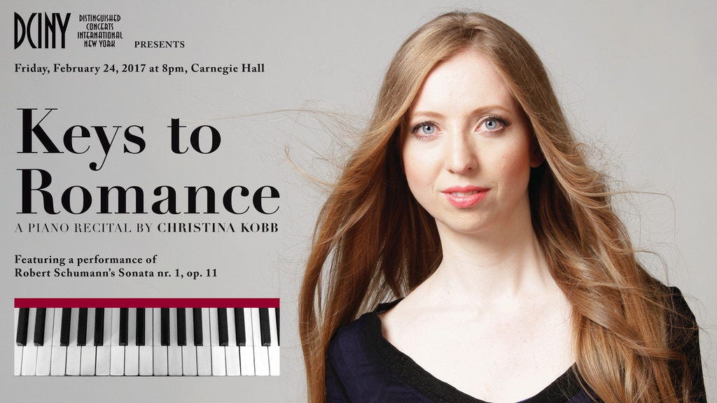 KEYS TO ROMANCE - A Piano Recital by Christina Kobb project video thumbnail