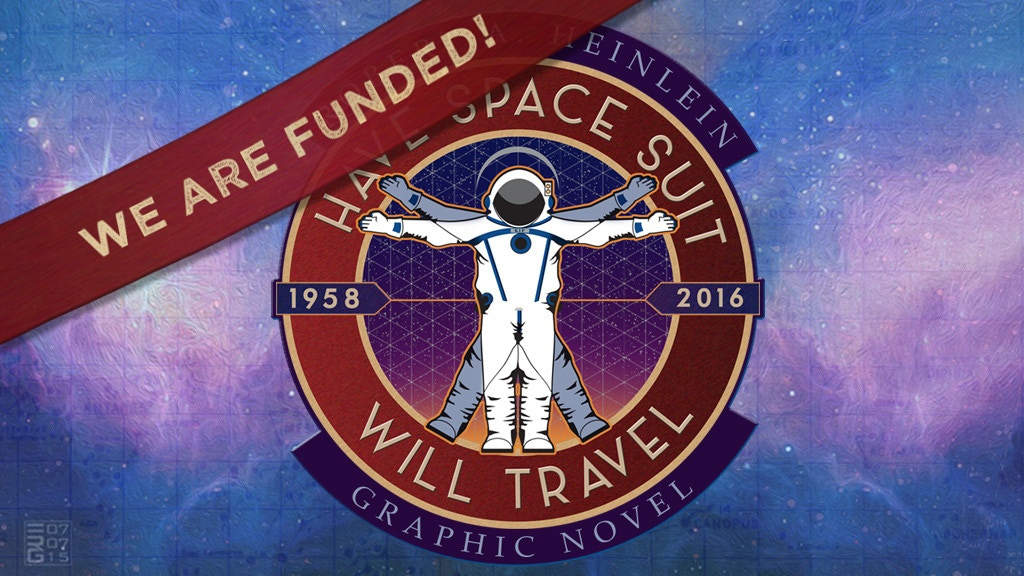 Robert Heinlein's Have Space Suit Will Travel Graphic Novel project video thumbnail