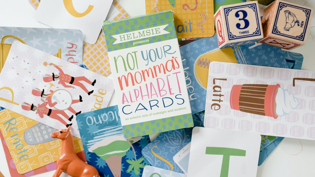 Helmsie Presents: Not Your Momma's Alphabet Cards project video thumbnail