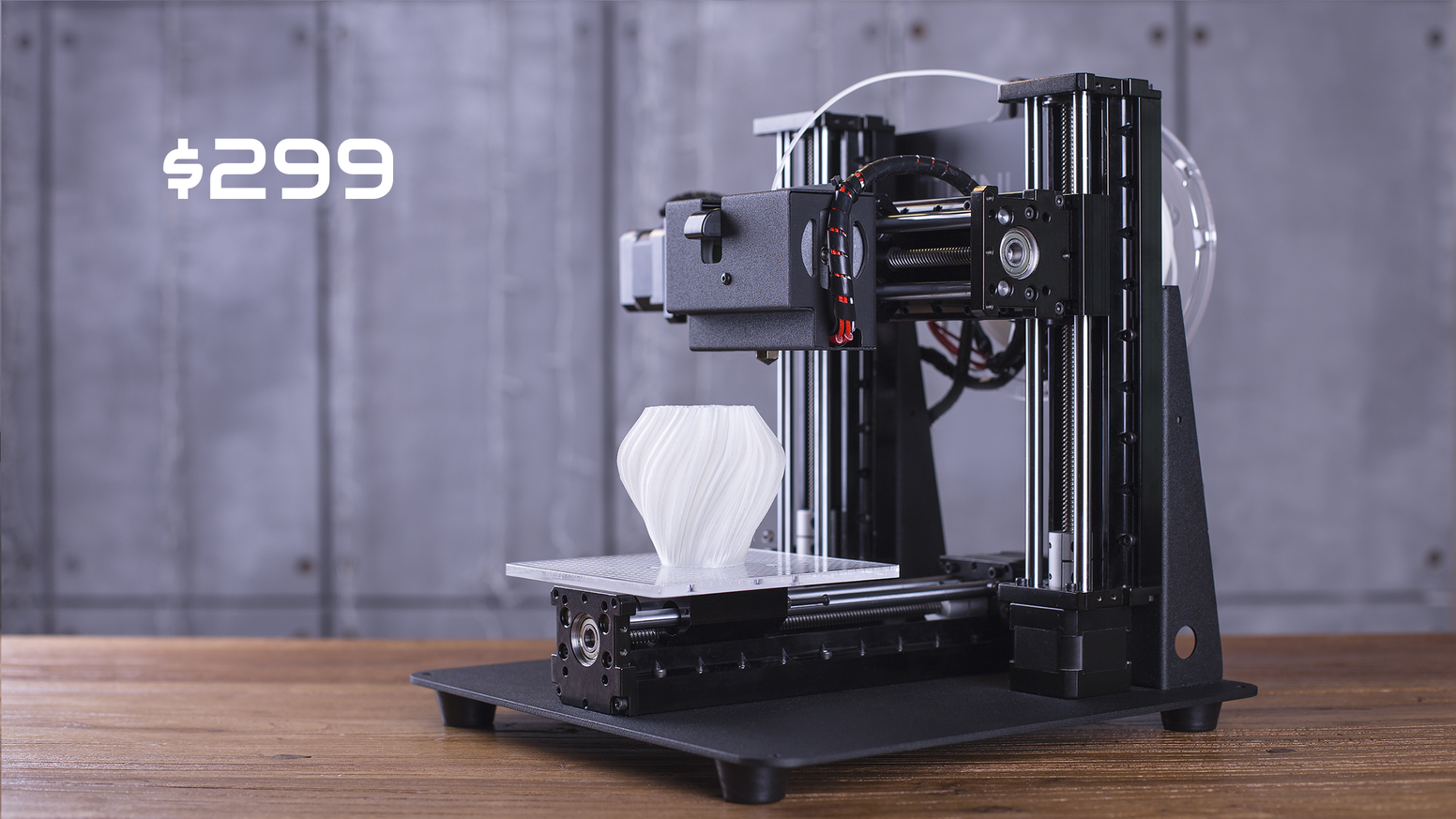 Made of industrial-grade parts. Transforms into a laser engraver in 60 seconds. Trinus is the professional 3D printer you can afford.