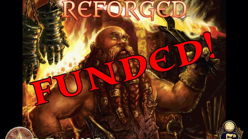 Forged in Magic: REFORGED 400+ magic items for 5E project video thumbnail