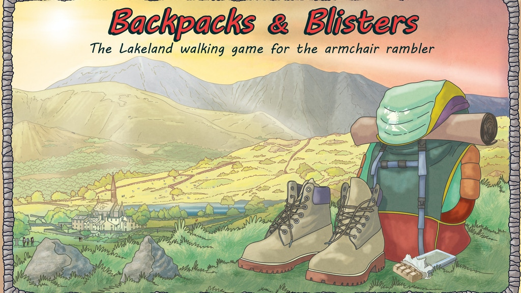 Backpacks & Blisters! A classic board game for the family. project video thumbnail