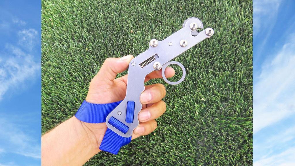 Flickshot: A trigger released slingshot. project video thumbnail