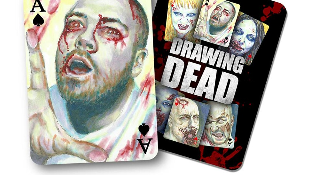 Drawing Dead: Zombie Poker Sketch Card Playing Card deck project video thumbnail