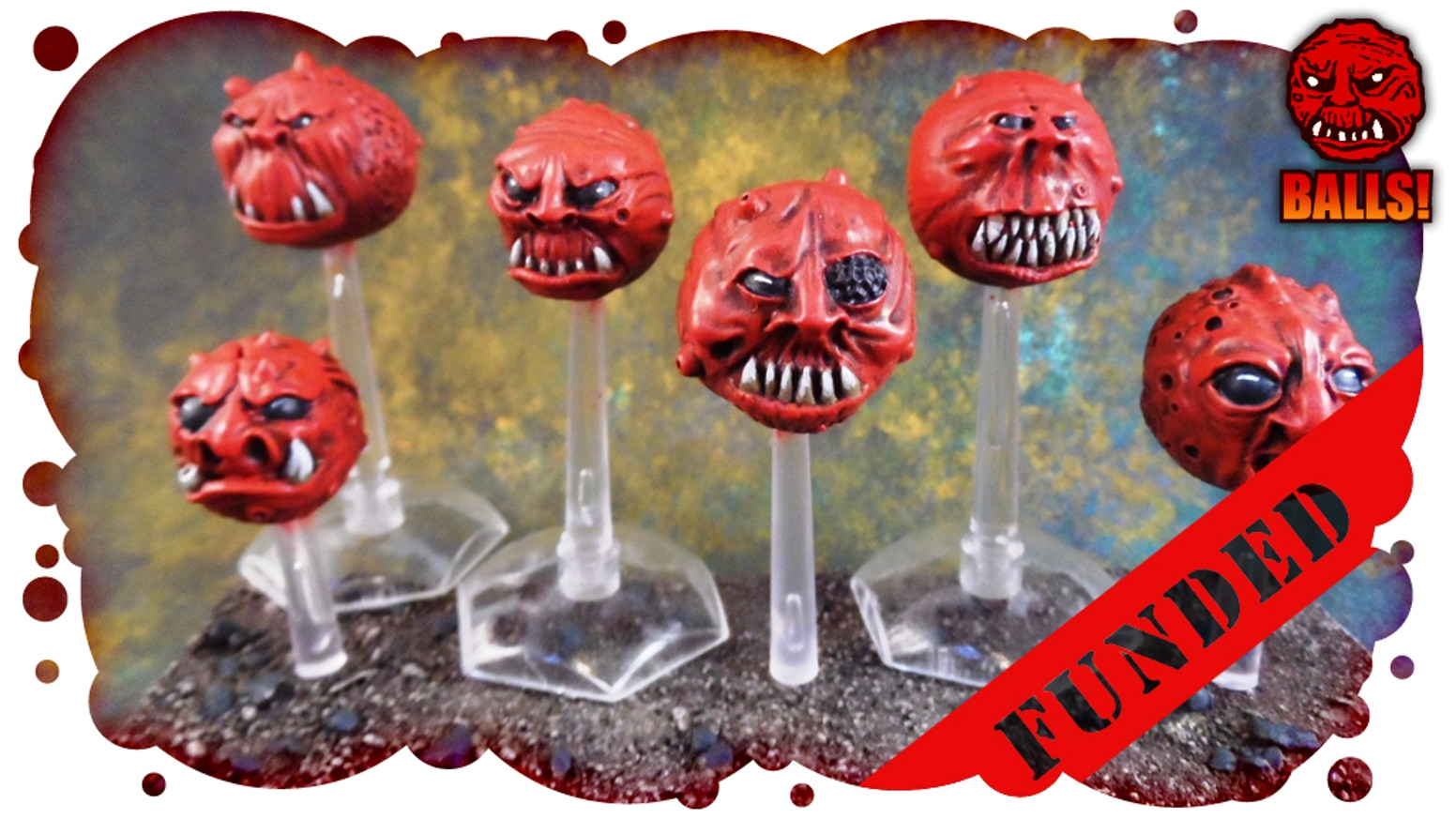 Now available to pre order for shipping late July after the backers.http://www.macrocosm.co.uk/product-category/ball-monsters/