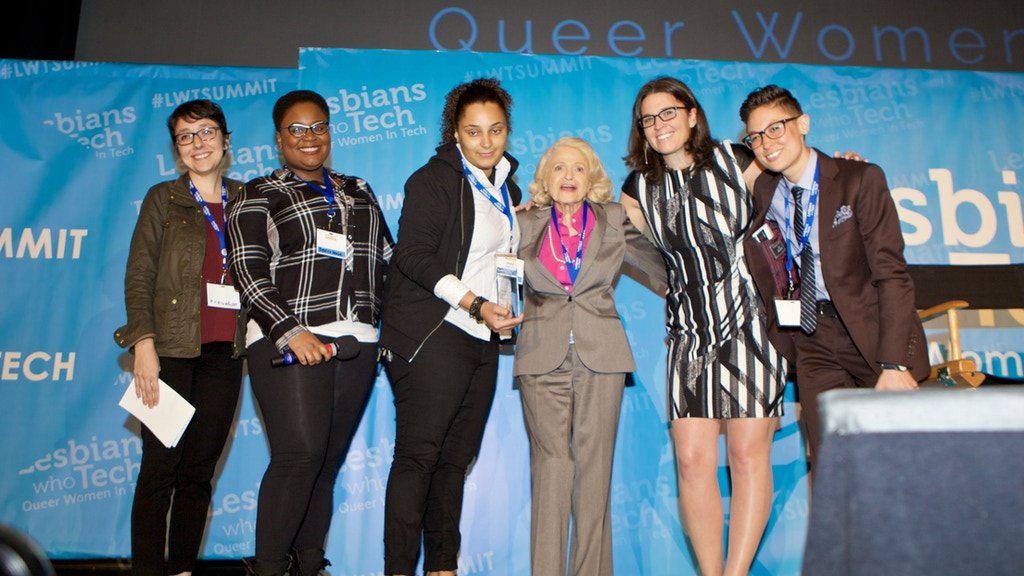The Edie Windsor Coding Scholarship Fund for LGBTQ women project video thumbnail