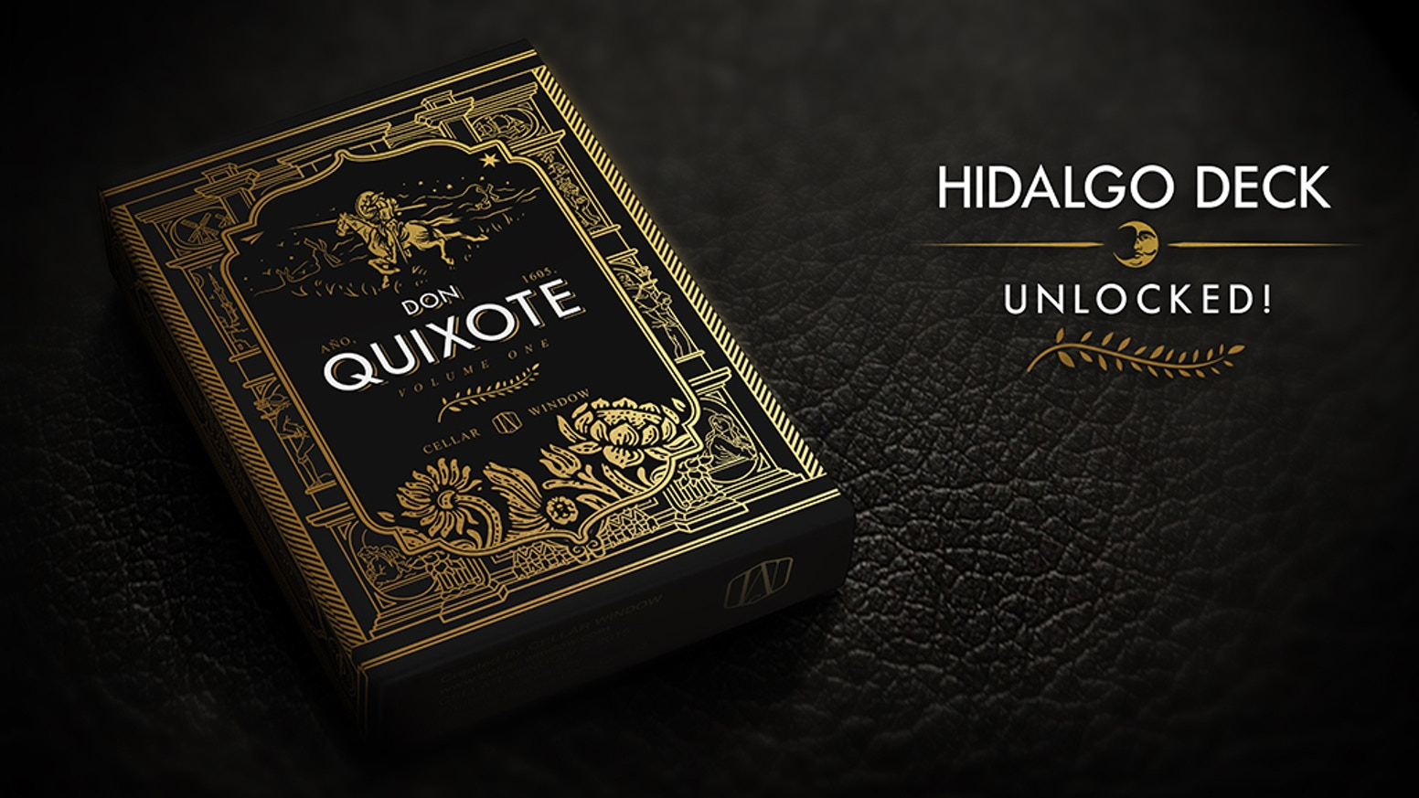 Playing cards inspired by the famous novel - The Ingenious Gentleman Don Quixote of La Mancha.