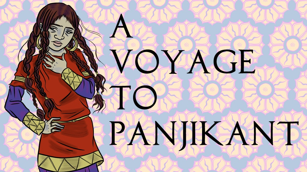 A Voyage to Panjikant: A graphic novel about the Silk Road project video thumbnail