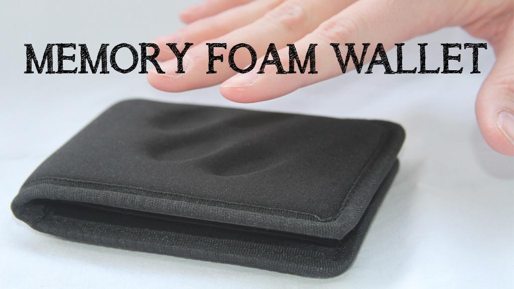 Memory Foam Wallet project video thumbnail