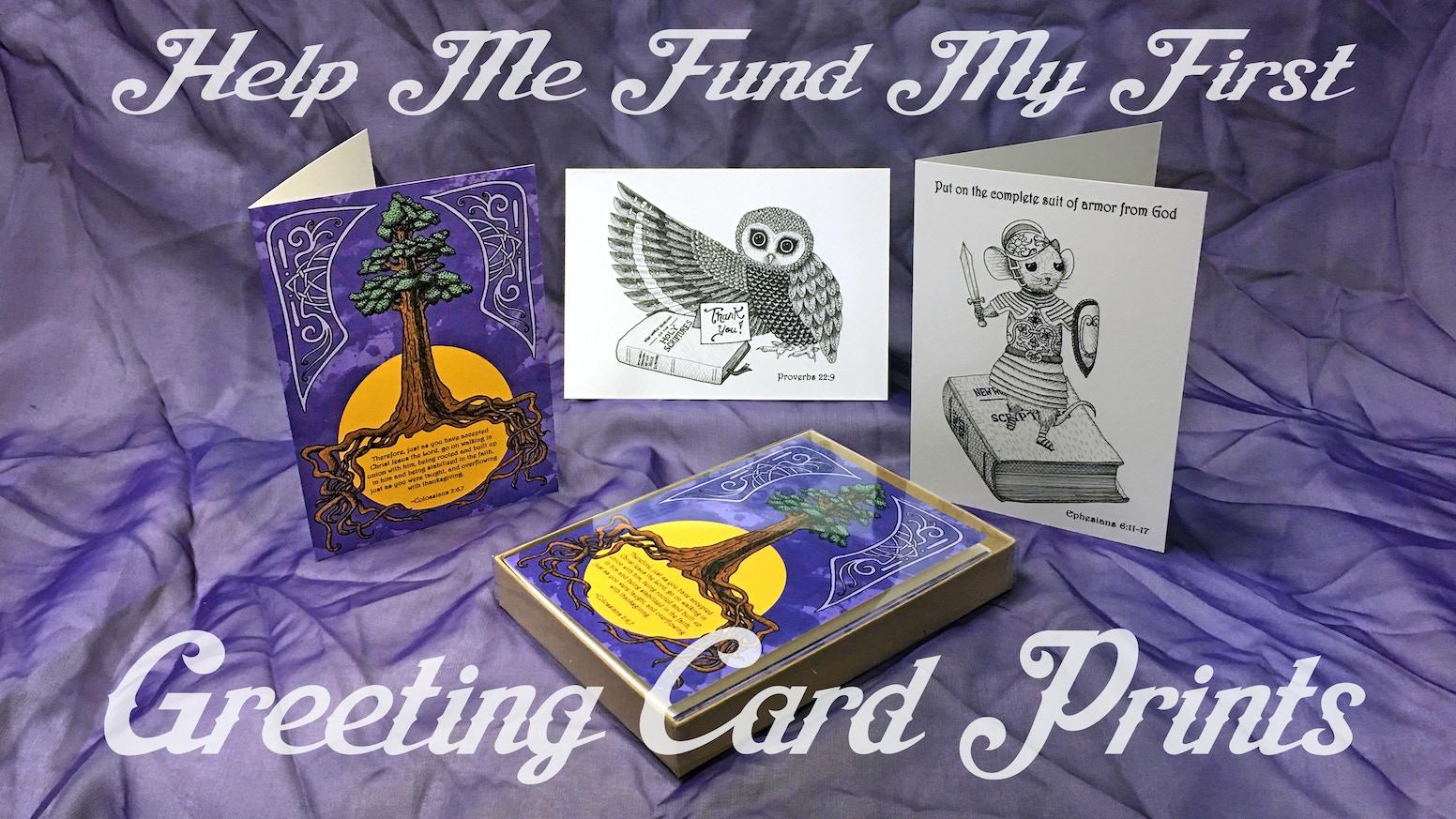 Inspirational Greeting Cards By Athena Mariah Larue Kickstarter