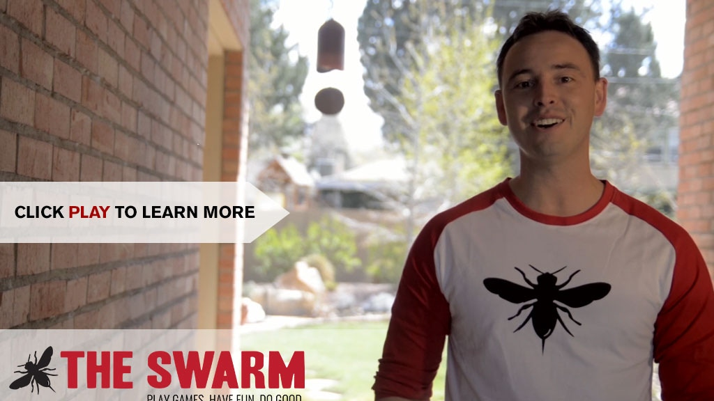 Bee The Swarm's Games for Charity project video thumbnail