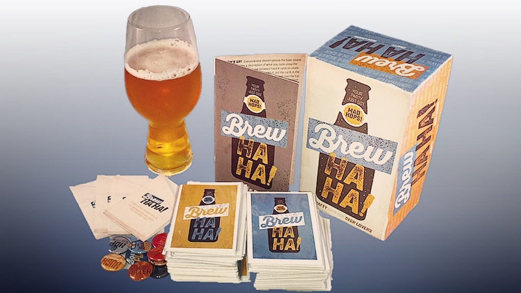 Brew Ha Ha! The crafty game for beer lovers project video thumbnail