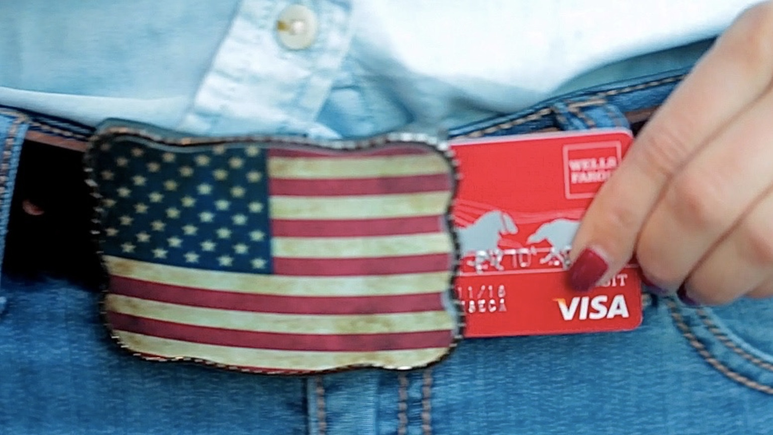 From now on...this is your wallet. Wallet Buckle stores up to 5 credit cards & ID's - Never lose your wallet & simplify your life!