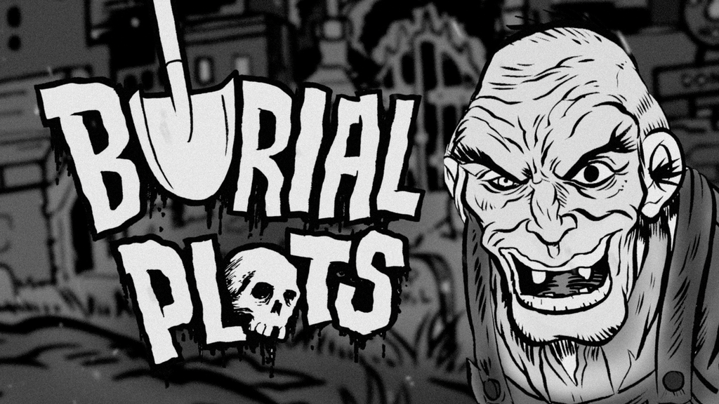 BURIAL PLOTS - A horror comic from Midnight Crew Studios project video thumbnail
