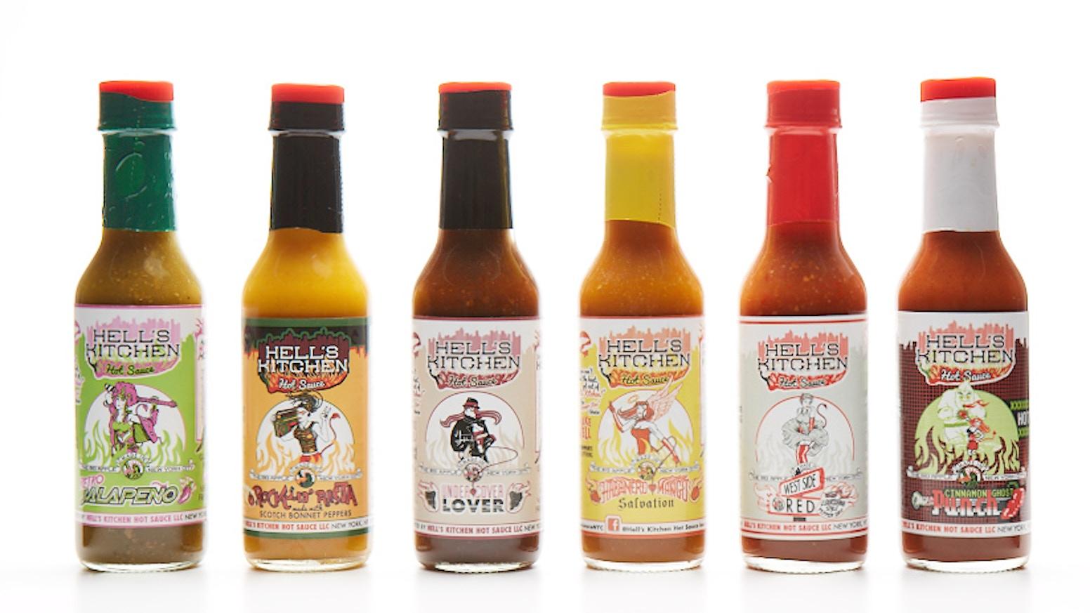 Hell 39 S Kitchen Hot Sauce Nyc By Ron Menin Kickstarter