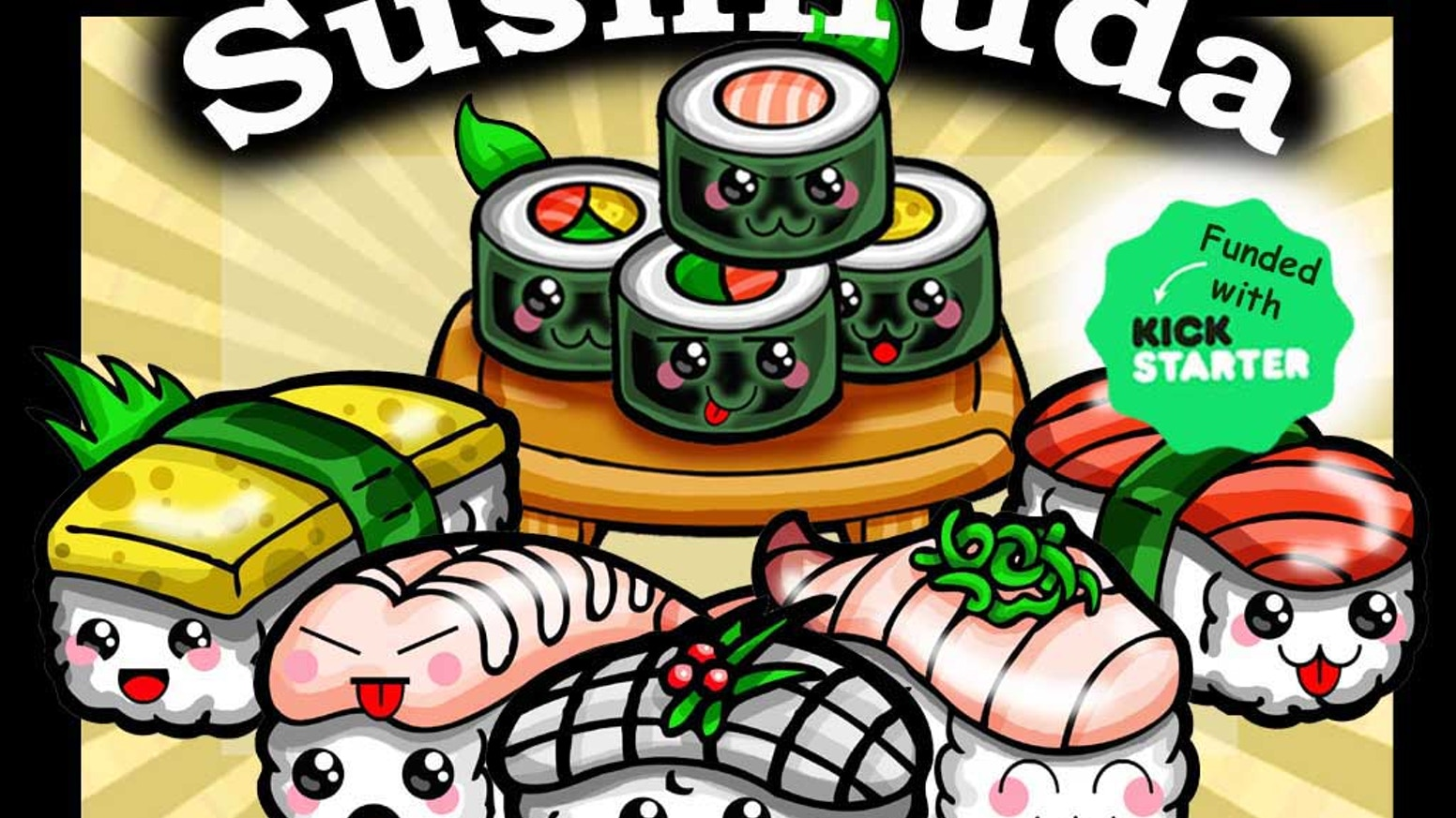 A delicious and adorable sushi take on the traditional matching card game of Hanafuda.