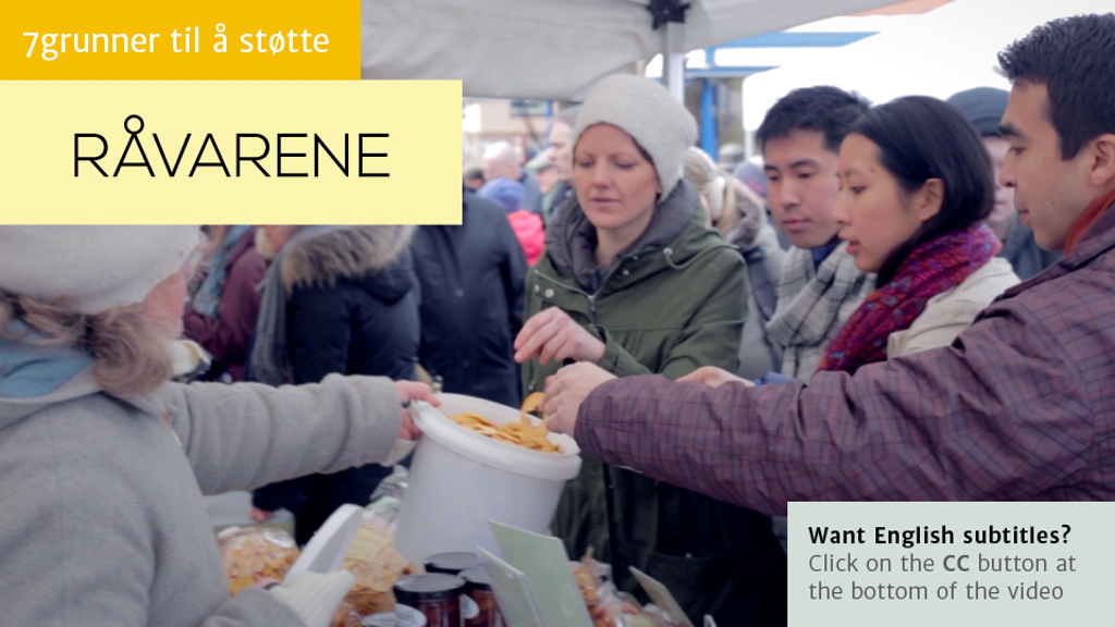 Råvarene – Your Zero Waste Grocery Store project video thumbnail