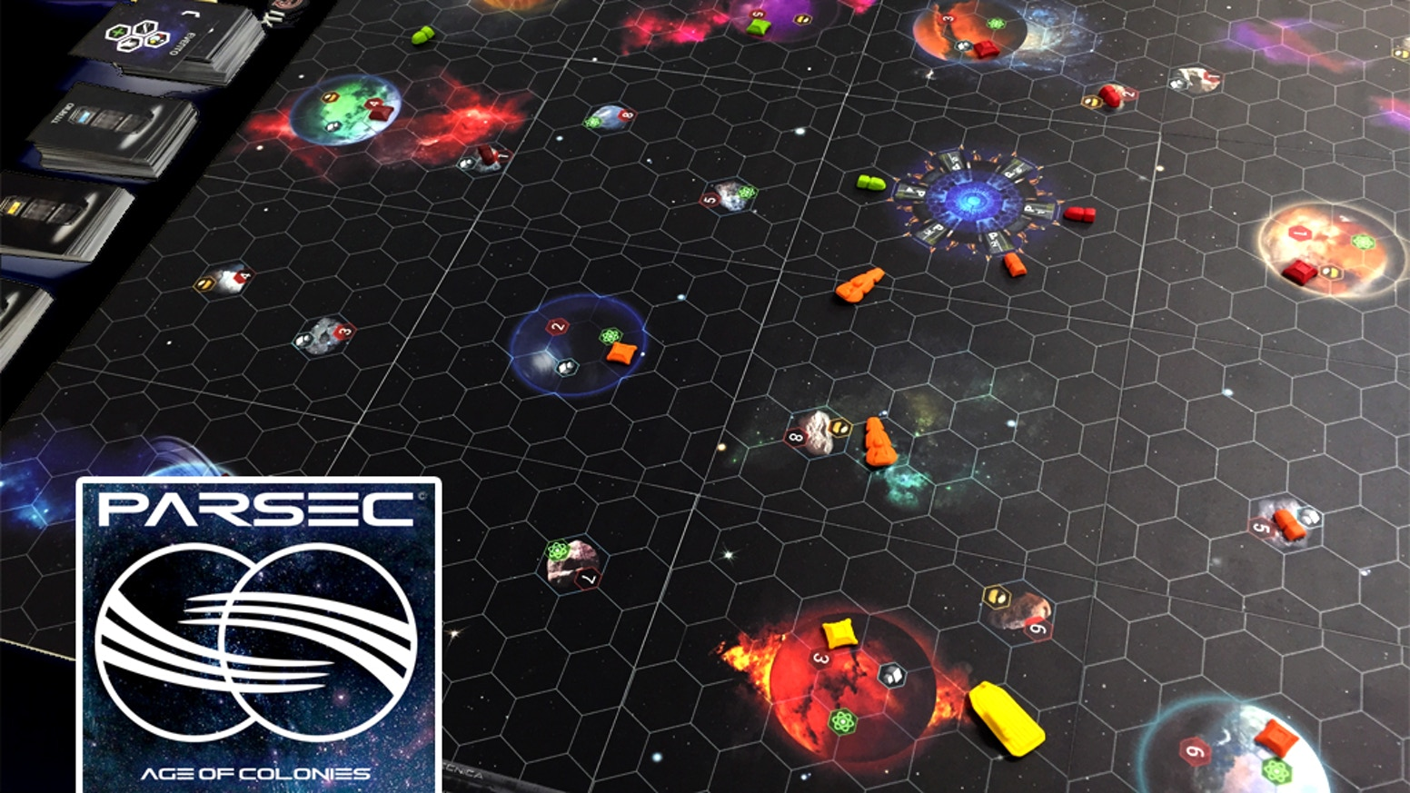 Colonize and control planets and asteroids, gain resources, expand your domain and build a powerful fleet to rule the galaxy!