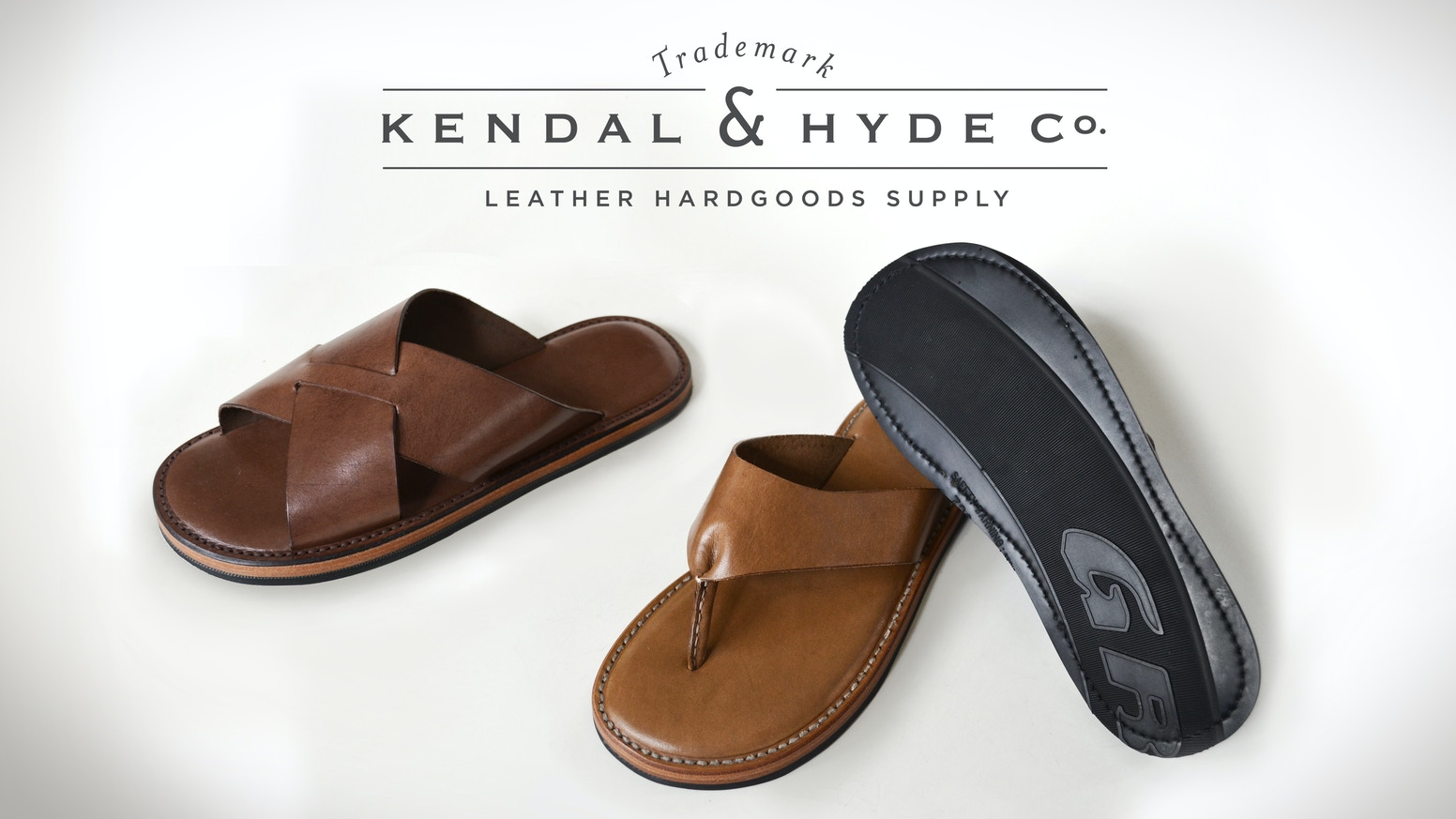 Hand Made Leather Sandals With Upcycled Car Tire Soles By