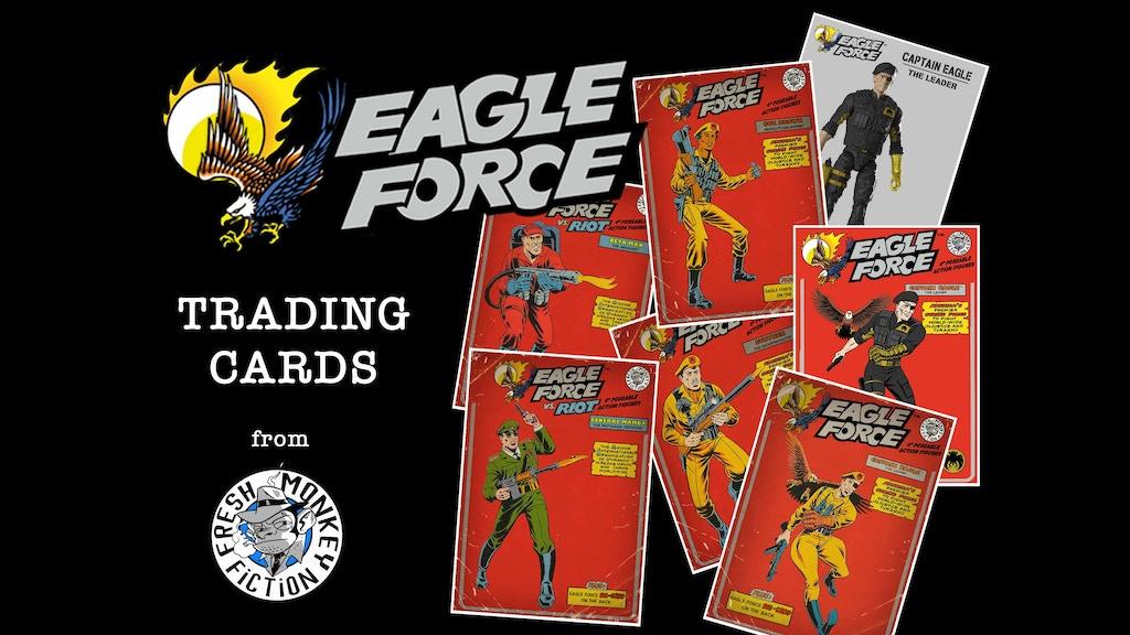 eagle force returns trading card set by bill murphy. Black Bedroom Furniture Sets. Home Design Ideas