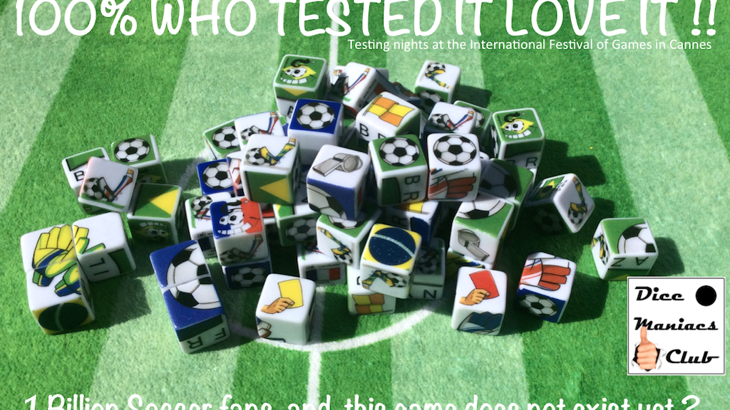 GooaAAAal! Collectable Dice Game - Football Series. Goal project video thumbnail