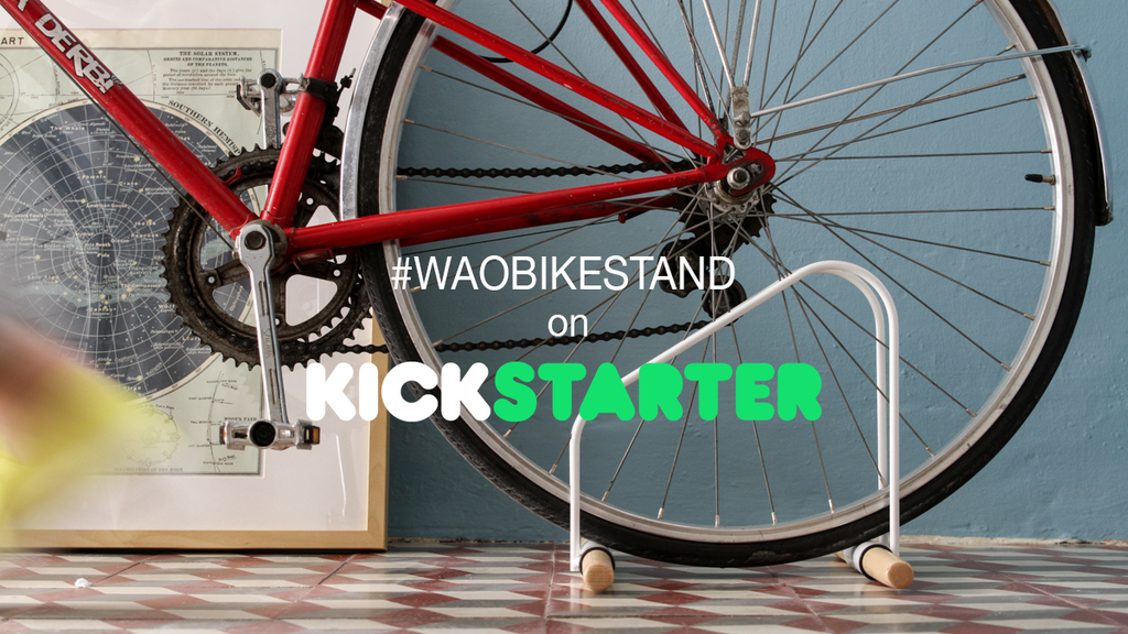 WAO Bike Stand project video thumbnail